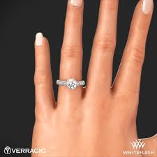 engagement rings 100 verragio d 100 scalloped diamond engagement ring 4615