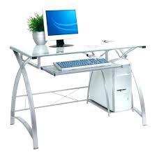 L Shaped Glass Desks L Shape Glass Desk Computer Glass Desk Medium Image For Target
