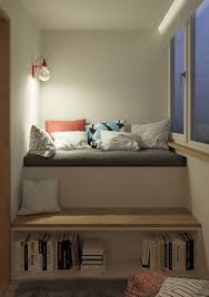 Low To The Ground Beds 3 Modern Style Apartments Under 50 Square Meters Includes Floor