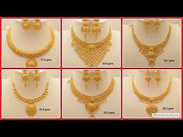 necklace set gold design images Latest gold necklace for women under 10grams simple light weight jpg