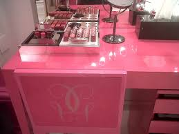 Pink Vanity Table Irresistible Vanity Table And Vanity Table Also Lights