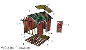 How To Build A 10x12 Shed Plans by 10x12 Shed Plans Myoutdoorplans Free Woodworking Plans And