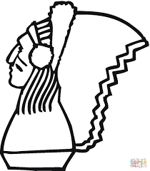 war bonnet coloring page free printable coloring pages