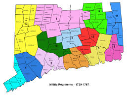 Connecticut State Map by Decoding Connecticut Militia 1739 1783 Journal Of The American