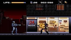 robocop electrocutes himself youtube robocop versus the terminator megadrive virgin games youtube