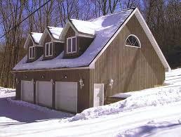 hillside garage plans trippel garasje med leilighet building projects pinterest