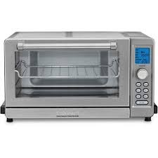 Toaster Oven Reheat Pizza Cuisinart Deluxe Convection Toaster Oven Broiler U0026 Reviews Wayfair