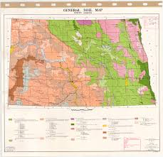 North Dakota Time Zone Map by General Soil Map North Dakota Esdac European Commission
