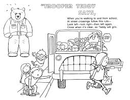 road safety coloring pages omeletta me