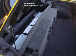 c6 corvette sub box corvette partition subwoofer box