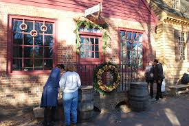 christmas decorations in williamsburg virginia life and real