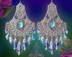kerala earrings bohemian chandelier earrings clothing by kerala on etsy