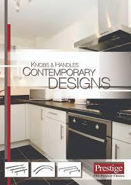 prestige catalogue itw proline knobs handles contemporary designs brochure pdf