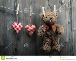 teddy for s day s day wallpaper teddy hanging with textile hearts