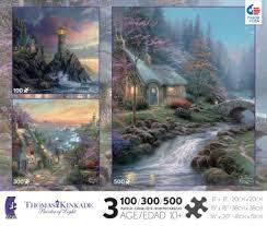 26 best kinkade jigsaw puzzles images on jigsaw