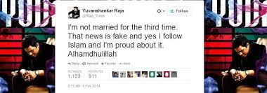 Seeking Not Married Why Composer Yuvan Shankar Rajah Converted From Hinduism To