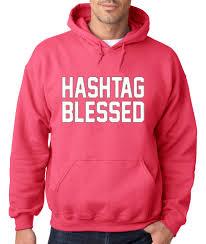 Blessed Meme - new way 395 hoodie hooded sweatshirt hashtag blessed meme kanye