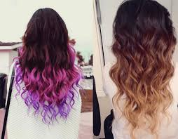 weave hairstyles with purple tips hair color ideas for black women bleached hair dip dyed