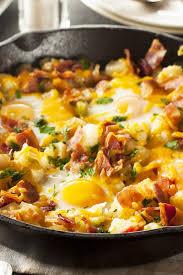 egg recipes for dinner bacon egg and potato breakfast skillet kitchme