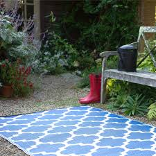 recycled plastic outdoor rugs u0026 mats dfohome