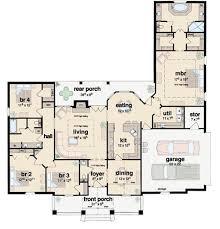 Contemporary Open Floor Plan House Designs 111 Best House Plans Images On Pinterest Architecture House