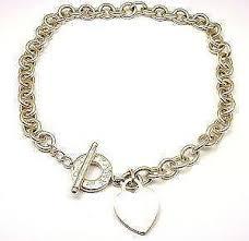 ebay necklace heart images Tiffany toggle necklace ebay JPG