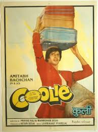 biography of movie coolie coolie 1983 this amitabh bachchan rati agnihotri rishi kapoor