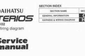daihatsu terios 1997 wiring diagram wiring diagram