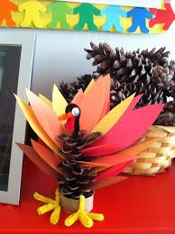thanksgiving pinecone turkey what we do at yal day new thanksgivukkah unit blue acorn