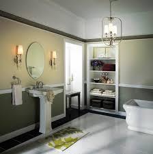 bathroom marvelous bathroom design with round bathroom mirror
