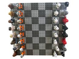classic lego r star wars chess set mountain of awesome
