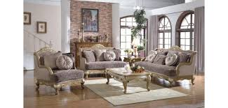 Wooden Table Ls For Living Room 606 Provincial Living Room Set In Gold