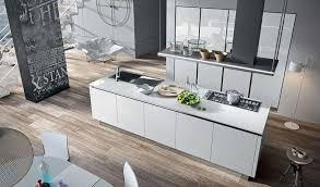 cuisine blanche parquet cuisine blanche dix idées déco pour la personnaliser inspiration