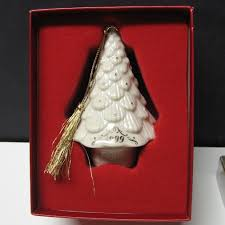 lenox china annual christmas tree ornament dated 1999 original