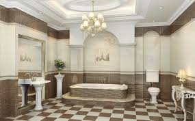 Chandelier Bathroom Lighting Bathroom Luxurious Chandelier And Wall Sconces For Bathroom