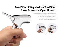 How To Use Bidet Toilet Kcasa Double Switch Toilet Seat Bidet Shower Cleaning Bidet