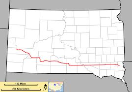 south dakota road map south dakota highway 44