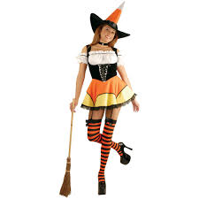 candy corn costume candy corn witch costume large walmart