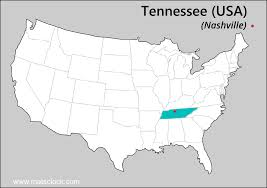 Idaho Time Zone Map by Daylight Saving Time Dates For Usa Tennessee Nashville Between