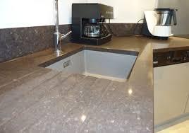 montage plan de travail cuisine quartz plan de travail sur mesure cuisine 1 int rieur granit en