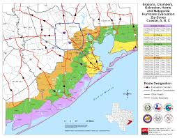 Counties In Texas Map Hurricane Evacuation Galveston Tx Official Website
