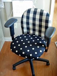 Diy Desk Chair Diy Office Chair Makeover With Fabric In My Own Style