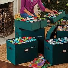 multi function storage bin ornament storage box ornament