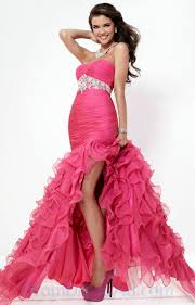 buy tailor made mermaid style gorgeous red beading hottest prom