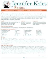 Fitness Resume Download Pilates Instructor Resume Haadyaooverbayresort Com