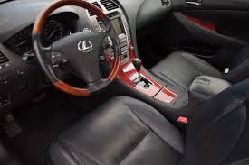lexus sedan sale lexus es 350 for sale carfax certified bluetooth heated