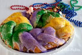 king cake for mardi gras mardi gras king cake recipe barbara bakes