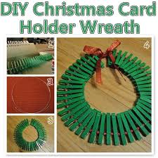 diy christmas card holder wreath pictures photos and images for