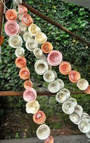 15 best wedding paper flowers images on pinterest flower wall