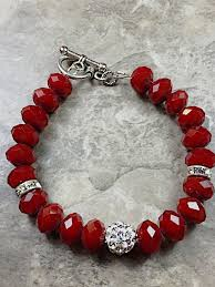 red beads bracelet images 58 beads for making bracelets china products beads for making jpg